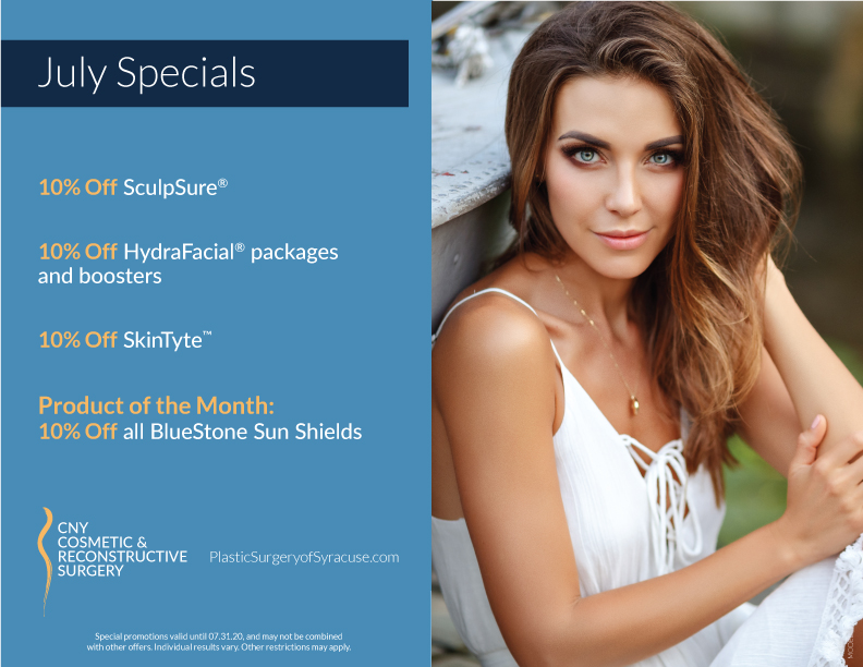 July 2020 Specials at CNY Cosmetic & Reconstructive Surgery